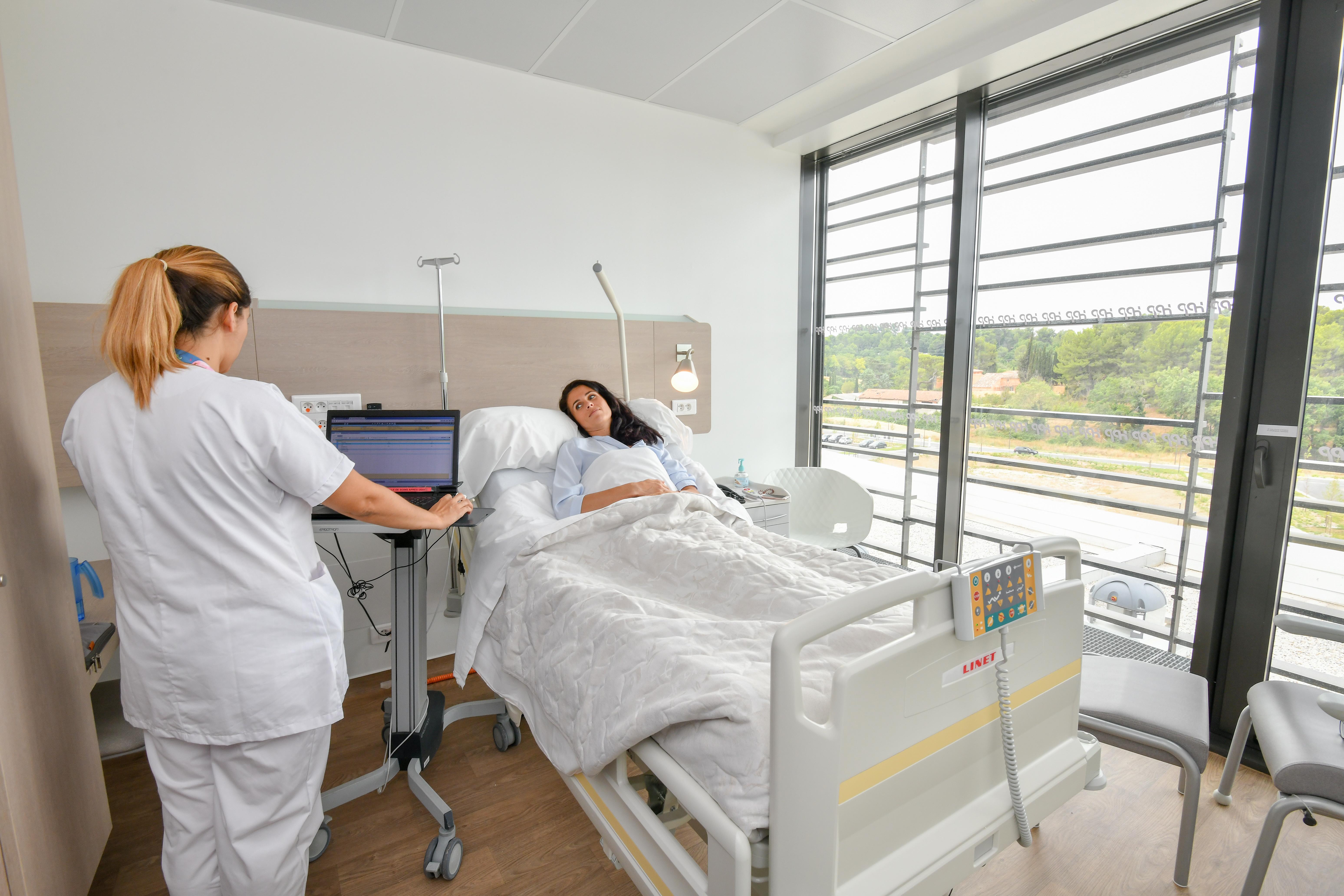 Prestations hôtelières - Hôpital Privé de Provence
